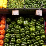 When grocery stores sell more produce, they waste less.